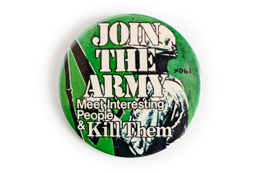 Join The Army badge