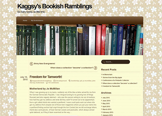 Kaggsy's Bookish Ramblings