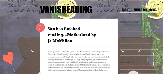 VanIsReading